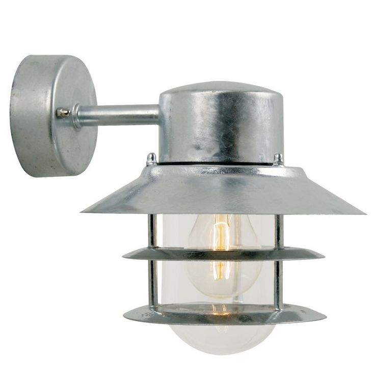 Nordlux Blokhus Down E27 Outdoor Wall Light
