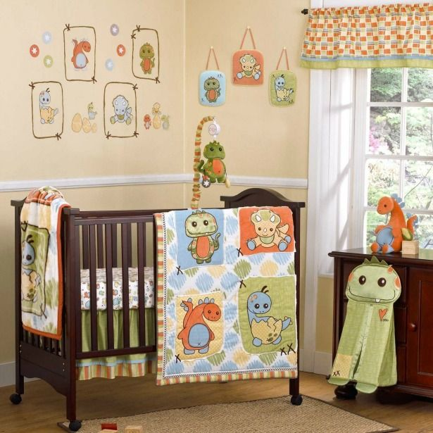 Dinos At Play Adorable Nursery Set And Decor
