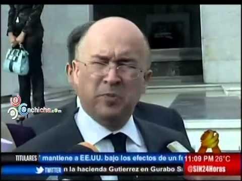 Pte. Suprema Corte de Justicia le enrostra al presidente Medina las carencias de ese sector #Video - Cachicha.com
