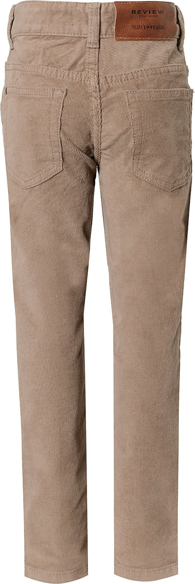 REVIEW FOR KIDS pants boys, Camel, size 116