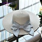 Bow-knot sonnenhüte für frauen große krempe mode strand hut sonnencreme # frauen …  – Women's Accessories