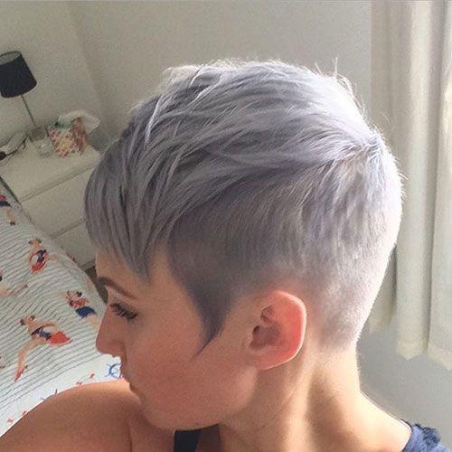 20 Good Short Grey Haircuts | Short Hairstyles & Haircuts 2015