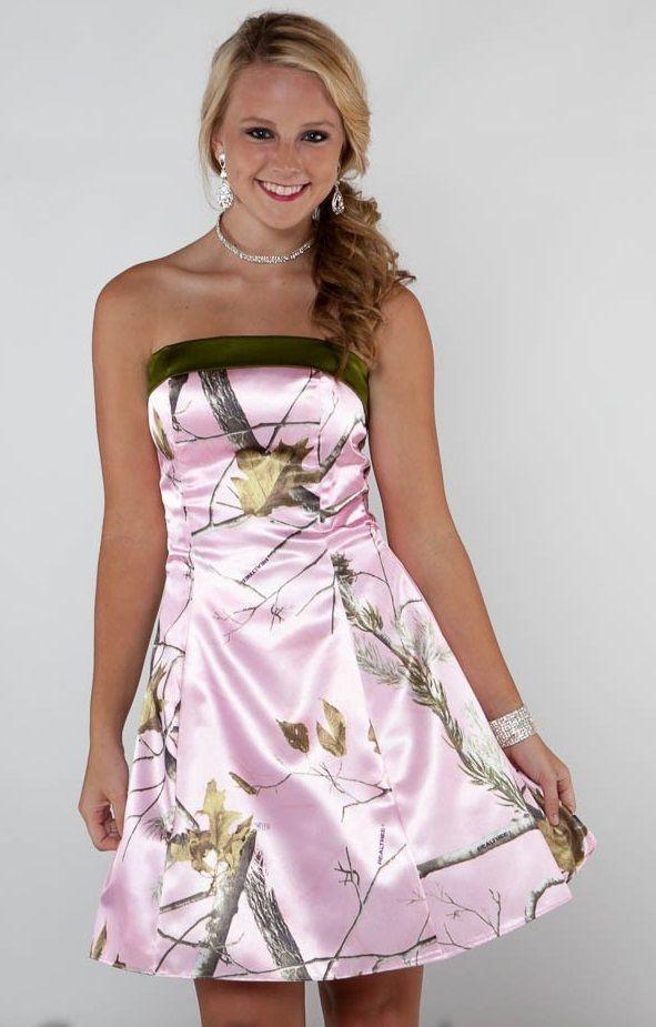 Simple Camo Wedding Dresses | ... consider long mossy oak wedding dress or short mossy oak wedding dress