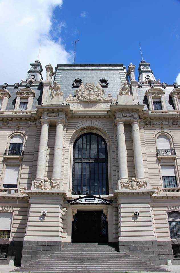 Fachada del edificio de la Aduana de Buenos Aires,  Argentina