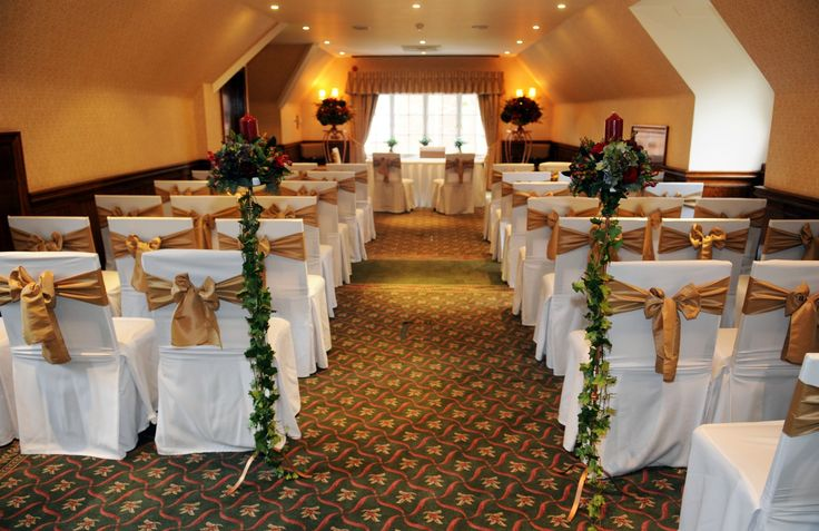 Ceremony in our Hampshire Suite