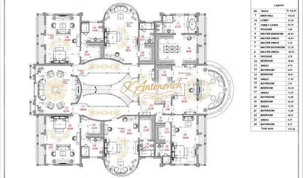 Luxurious House Plan In Uae Luxury Antonovich Design Usa House Plans Luxury Homes Family House Plans