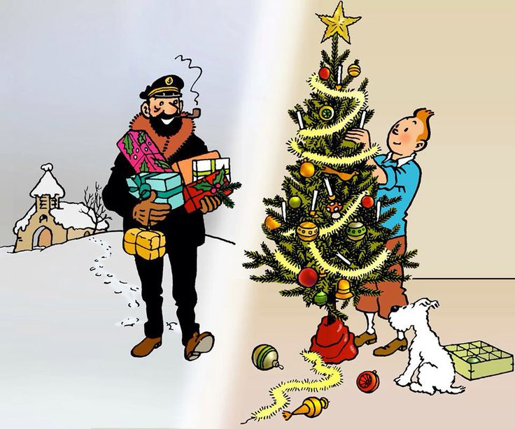 Tintin   ~   Haddock    ~    Milou