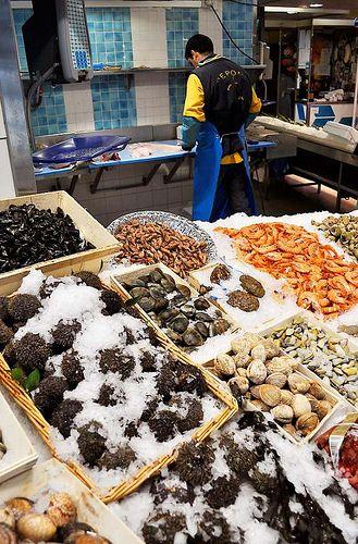 Fishmarket à Montmartre, Paris: Poissonnerie Pepone