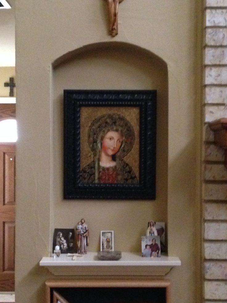 24 Best Images About Catholic Home Altars And Shrines On
