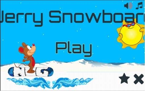 Enjoy the fun of jerry and Snowboard in the gravity mountain ! All the Fun and the Adiction of jerry and snowboard Anyone can play! Just touch the screen and Flip the gravity! Reach highest distances and try to discover what's in ! eat fishs to increase scoredownload this game, skate and enjoy playing them and will not regret  http://Mobogenie.com