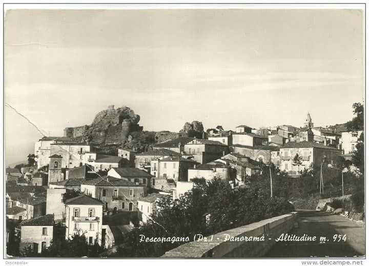 Pescopagano 1965