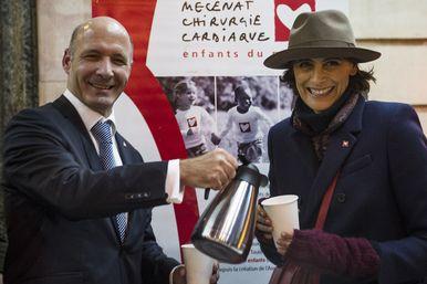 [ENFANCE] Goûter solidaire au Café de la Paix pour Mécénat Chirurgie Cardiaque