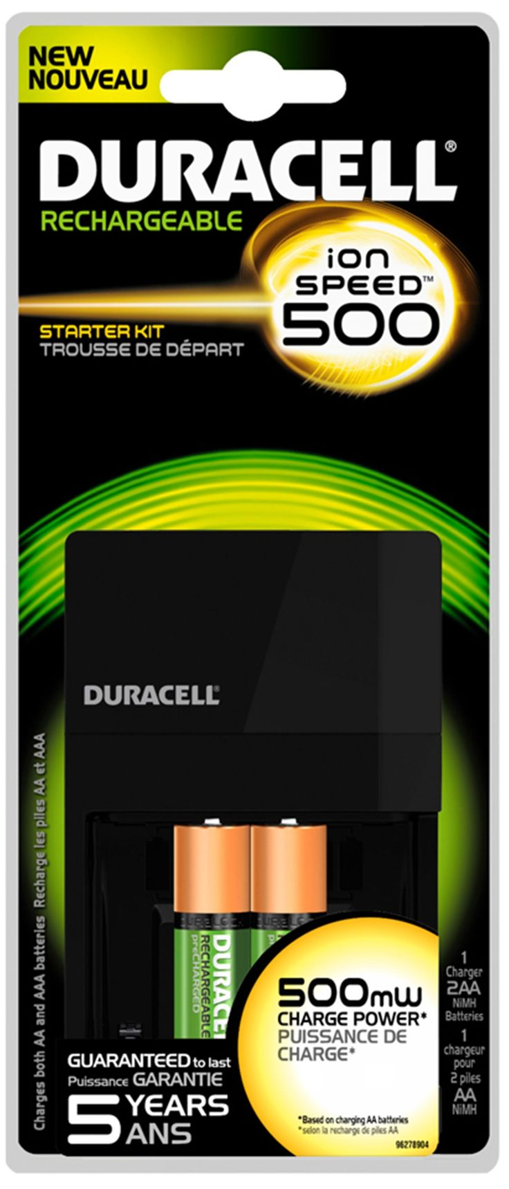 Duracell Ion Speed 500 Battery Charger BlisterKmart