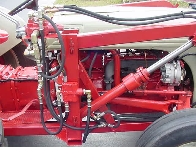 Pic 12 8n Ford Tractor Hydraulic Systems Ford Tractors