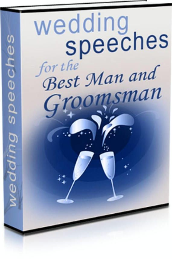 Wedding Speeches for the Best Man and Groomsman  eBook