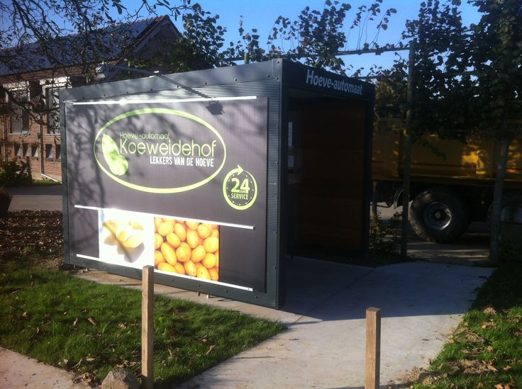 Billboard for a local vegetable machine. Logo also made by Pixellounge.