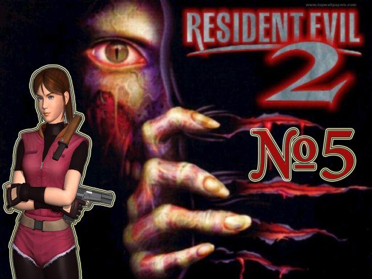 Resident Evil 2 прохождение Клэр А часть 5.