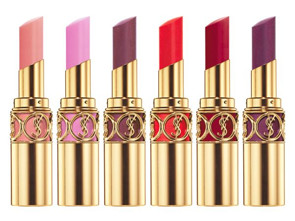 YSL Rouge Volupte Lipsticks ~ colors so bold, not for the faint of heart!