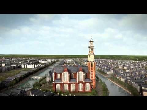 De groei van de Grachtengordel / Expansion of Amsterdam in the Seventeenth Century - YouTube