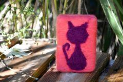 Kedi Keçe Sabun M3 #felt #soap #bekarlığaveda #kına #kınahediyesi #hediyelik