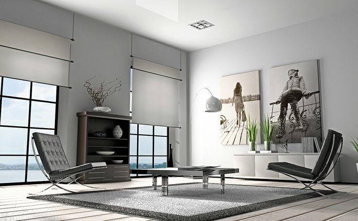 Salotto contemporaneo con poltrone in pelle http://www.reitanoarredamenti.it/showroom