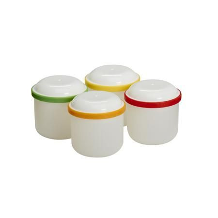 Dr.Browns Контейнеры-баночки 4 шт.  — 560р. -------------------- Контейнеры длядетского питанияDr. Brown's (4шт).Баночки подходят для хранения и замораживания детского питания. Сделаны из безопасных для малышей материалов - силикона и пластика. Замороженное питание легко вынимается из баночек. Если вы хотите приготовить детское питание впрок, для хранения лучше всего использовать специальные контейнеры. Разложите питание порциями по баночкам, закройте крышками и заморозьте. Когда…