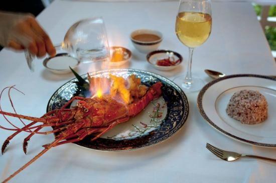 Lobster Flambé @ Ruen Thai, Dusit Thani Resort, Phuket