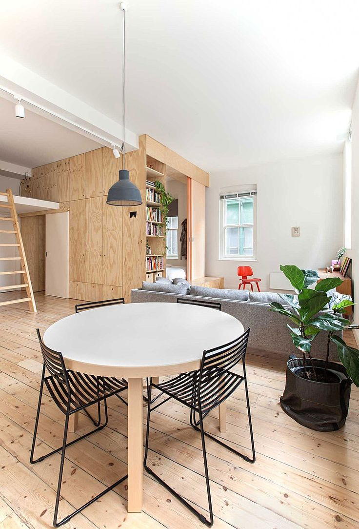 Flinders Lane Apartment by Clare Cousins Architects. This small 775 sq ft apartment is located in Melbourne, Australia. http://www.homeadore.com/2014/09/19/flinders-lane-apartment-clare-cousins-architects/