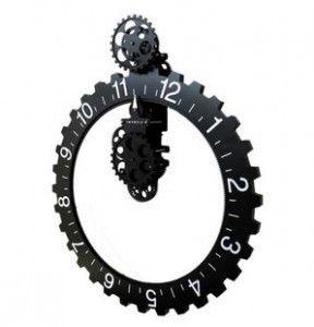 Mechanical Gear Wall Clock