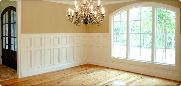 Wainscoting dining rooms and wallpaper installation on pinterest