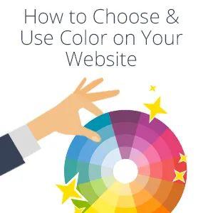 Как правильно выбрать цветовую схему для сайта?   Цветовая ...