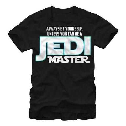 STAR WARS BE YOURSELF UNLESS T-SHIRT | star wars t shirt  | star wars logo t shirt