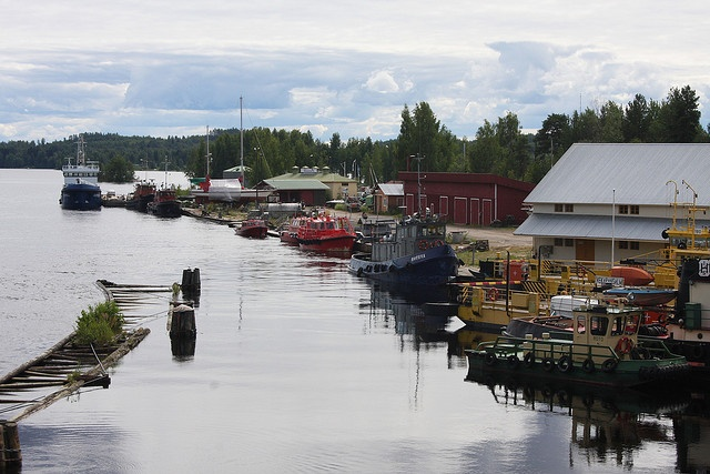 Shipyard in Savonlinna, Finland by viima, via Flickr