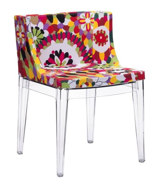 Pizzaro Dining Chair in Multicolor Polycarbonate (Set of 2)