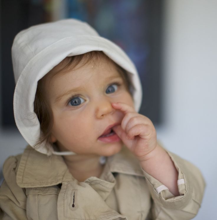 Classic bonnet for baby 0-24 months