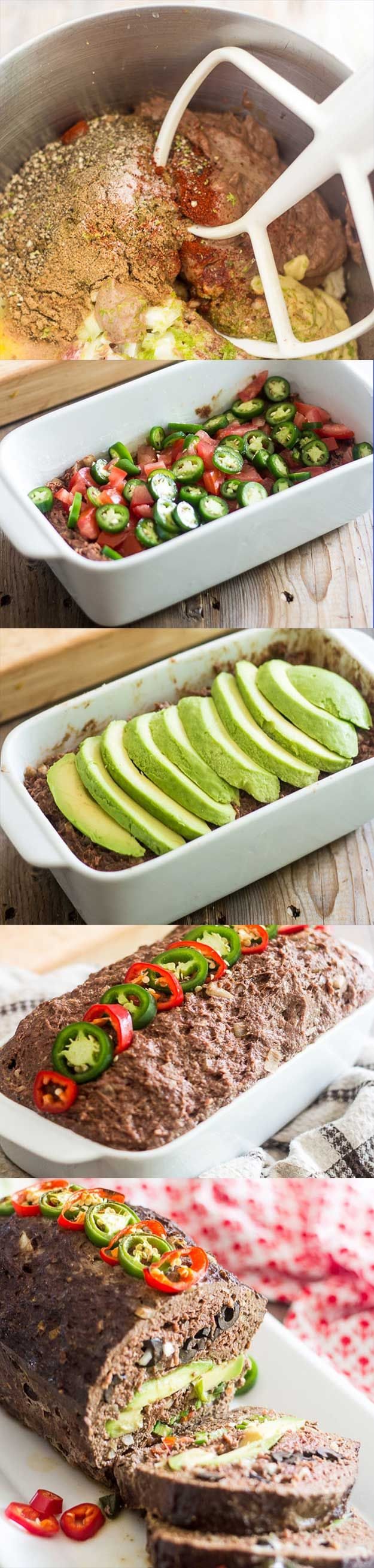 Loaded Mexican Meatloaf | Homesteading Recipes | Cooking on the Homestead Ideas and Tips at pioneersettler.com