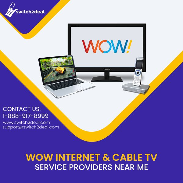 Avail The Fastest Internet And Cable Tv Service With Wow Near You And Enjoy The Fastest Speed To Know More Visit Https Tv Services Tv Providers Cable Tv