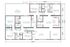17 best ideas about shop with living quarters on pinterest for 40x60 shop plans with living quarters