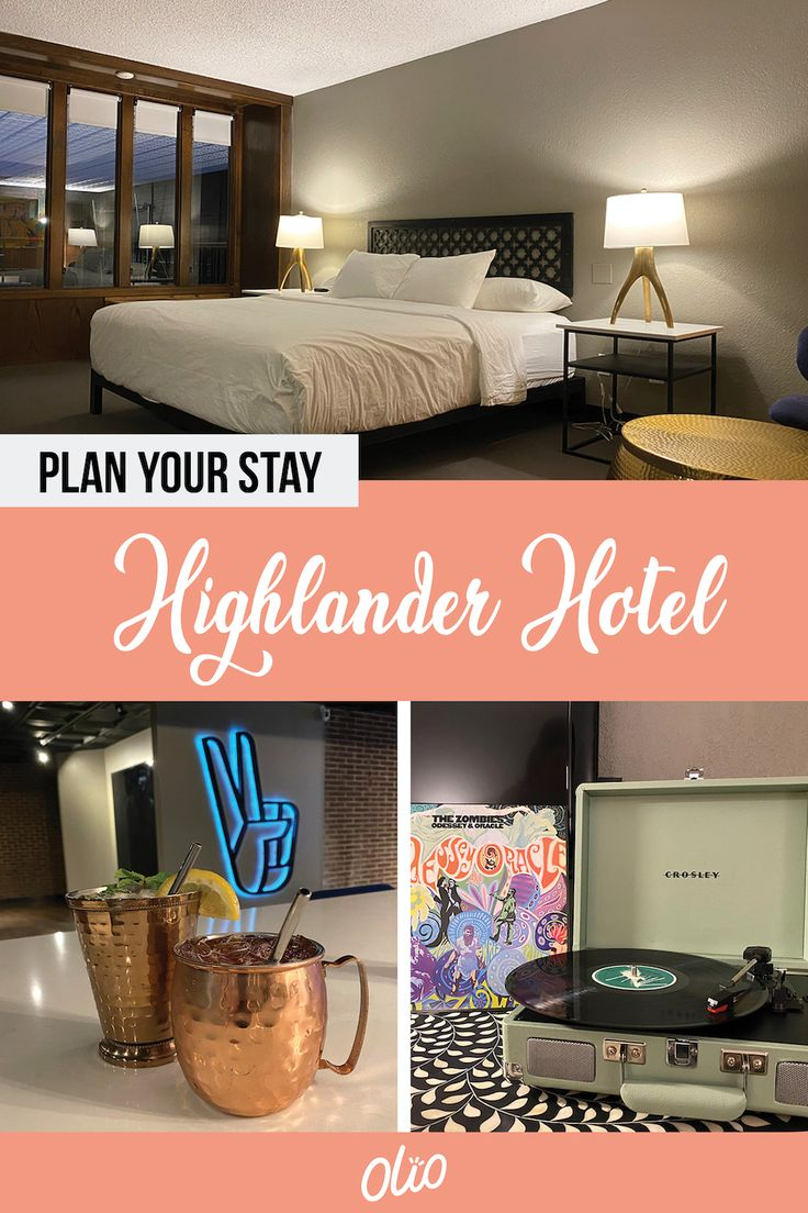 Plan A Groovy Stay At The Highlander Hotel In Iowa City Olio In Iowa In 2021 Iowa City Hotel Classic Space