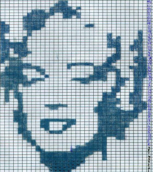 Monroe Intarsia Pattern - KNITTING