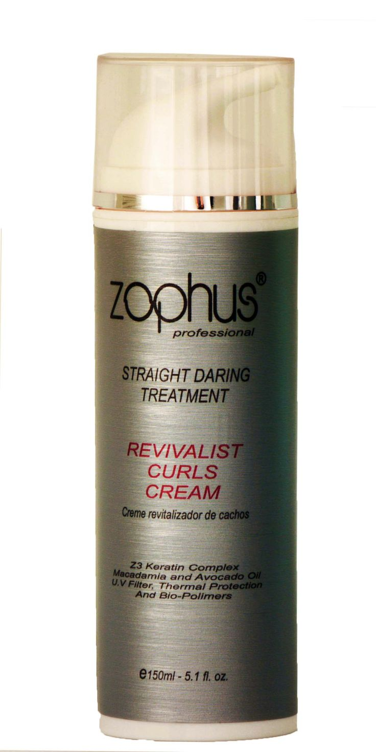 Revivalist Curls Cream leave-in to define, control and redraw the curls of wavy and curly hair. Its formula has the Z3 Keratin Complex repairing mechanical damage and chemical,Macadamia oil, Avocado and Argan for thermal protection and maximum brightness. The biopolymer latest generation water-based in the product guarantee and loose curls with lots of movement.Also can be used with diffuser or molded brush bunches curling iron and board.