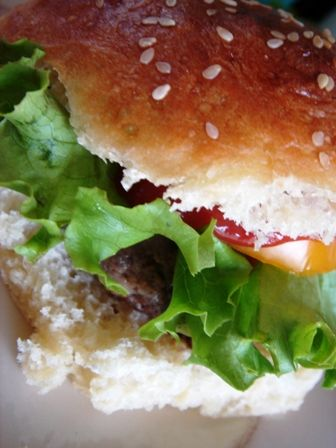 The Perfect Hamburger. I made this recipe for friends and was told it was better than burgers they had at a restaurant, so...