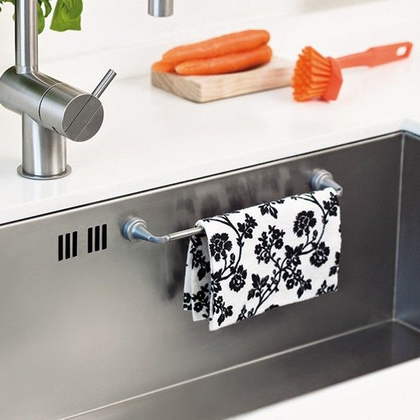 Magnetic Cloth Rail - For Stainless Steel Sink | REENBERG'S