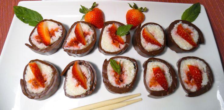 W czasie deszczu nie tylko dzieci się nudzą. Dzisiejsze, chłodne i deszczowe popołudnie postanowiłam spędzić w kuchni. Długo myślałam nad ciekawą alternatywą dla oryginalnego sushi. Nie przepadam …