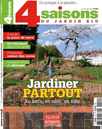Les 58 meilleures images du tableau jardinage les 4 for Magazine jardinage