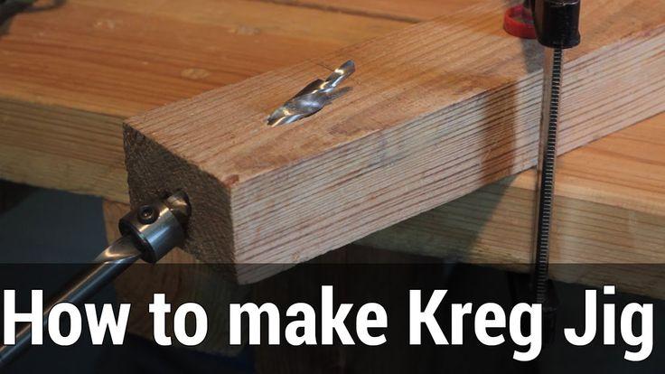 HowTo#1 How to make 9$ Kreg Pocket Hole Jig | Kreg Jig - как сделать эко... | Косые соединения ...