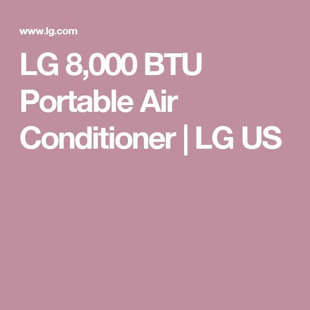 LG 8,000 BTU Portable Air Conditioner   LG US