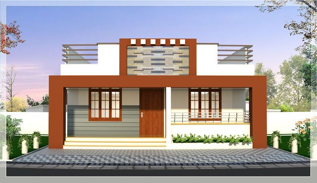 Veedu Designs Kerala Modern Home Designs 15 Lakhs In 2020 Kerala House Design House Design Modern House Design
