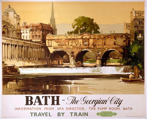 Bath - Georgian City by National Railway Museum - art print from Easyart.com