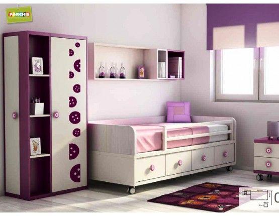 M s de 1000 im genes sobre dormitorios juveniles e - Camas nidos infantiles ...